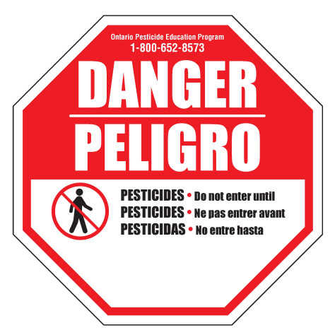 Danger Do Not Enter Until (REI sign)