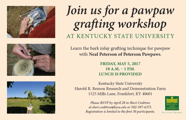 2017 KSU Grafting Workshop Poster