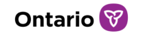 Ontario logo with trillium