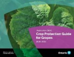 The front cover of OMAFRA Publication 360C Crop Protection Guide for Grapes 2020-2021