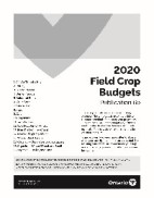The front cover of OMAFRA Publication 60 Field Crop Budgets 2020
